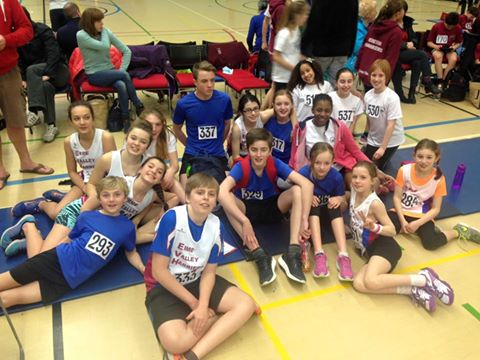 EVH Juniors at Sportshall